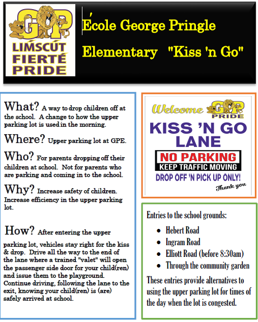 Thank you for using our Kiss 'N Go program
